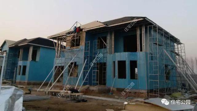 农村钢结构别墅图一层