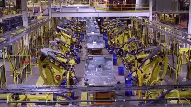2018版林肯航海家和福特探险者生产线欣赏制造业强国科技  ?