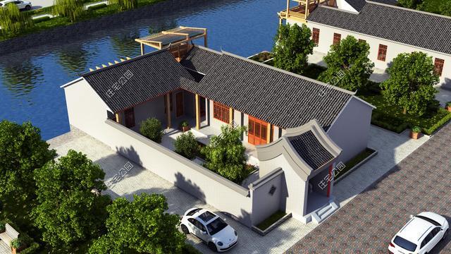 10套中式农村合院户型,农村建房就该这样,含全图