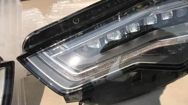 文咖思吧供销社C7 A6L 改矩阵大灯 拆卸一对LED 大灯 价格美丽 ...