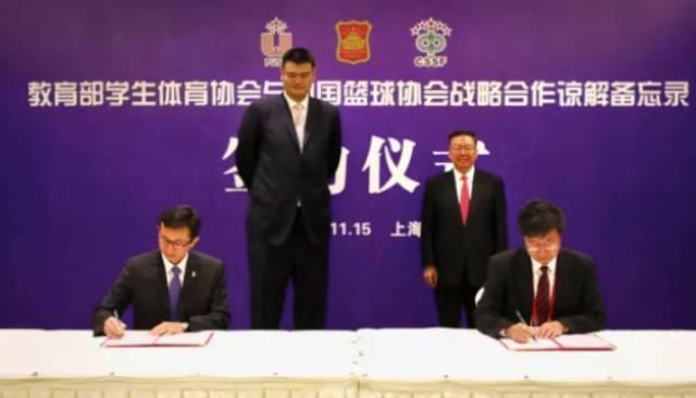 """中国篮协主席姚明曾经说过:""""任何人才的培养脱离了校园都是不符合实际的。"""""""