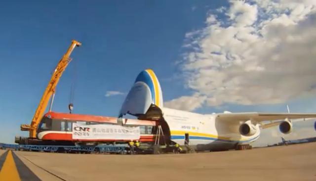 全程展示世界最大飞机 还好这个大飞机项目中国花200