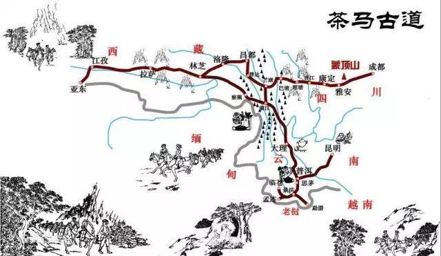 「旅游攻略」茶马古道,中国最神秘的徒步路线之一