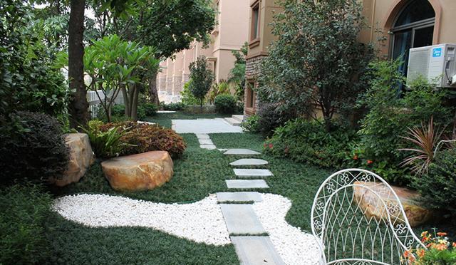 成都庭院绿化案例图片欣赏