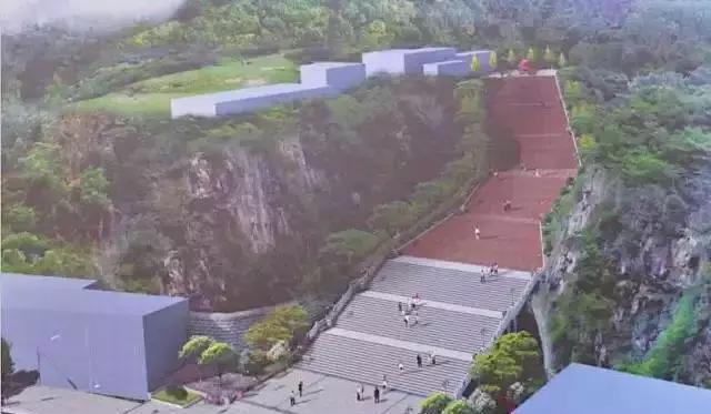 通江壁山森林公园龙洞沟入口主体已完工,先睹为快!图片