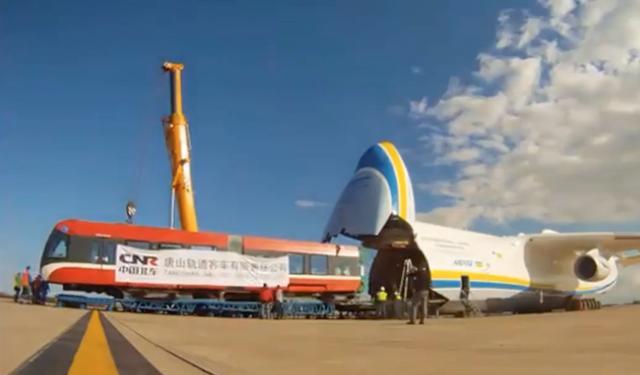 全程展示世界最大飞机 还好这个大飞机项目中国花200亿买下来了