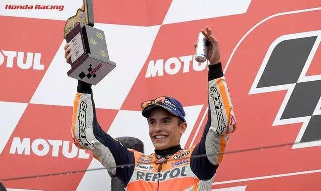 MotoGP 2017 马尔克斯连续两个赛季登上领奖台