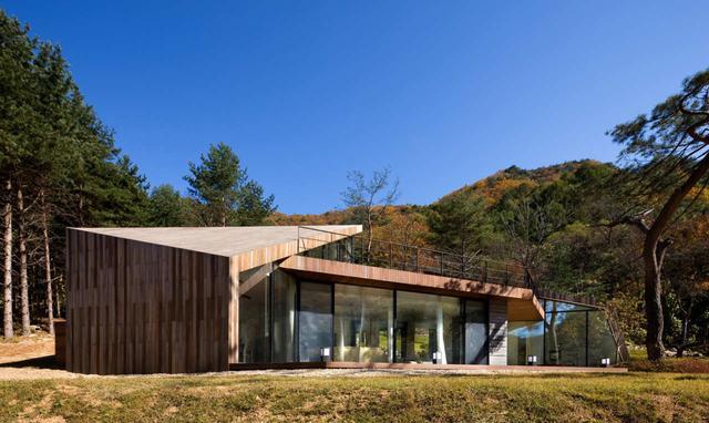 韩国现代别墅v别墅,寻一片城市之外的归隐咸阳娄勤俭桃源别墅图片