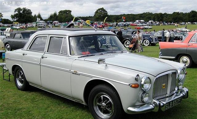 女王的座驾——ROVER P5