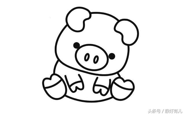 10款小动物简笔画,家长请收好!简单好画,提升孩子创作