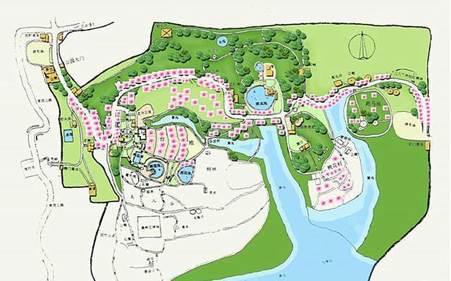 二乔公园平面图