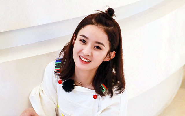 赵丽颖的五个绯闻男友,吴亦凡最帅