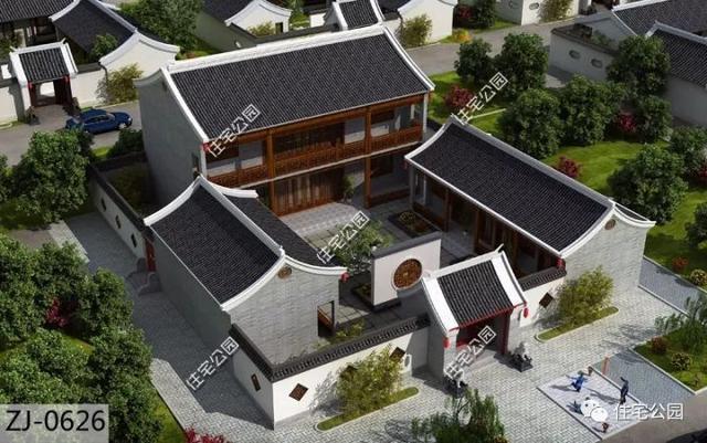 新农村建论,��^��ih_新农村建中式别墅最佳户型前30名,第1有多漂亮?农民建