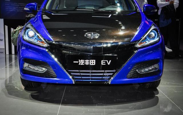 广州车展一汽丰田纯电能轿跑亮相,却打着夏利的旗号