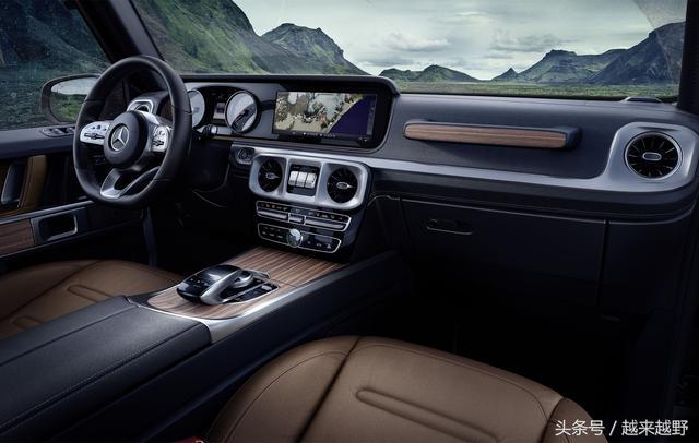 新一代奔驰G级仅仅公布了内饰图,很多人就拍板:明年就买它了!