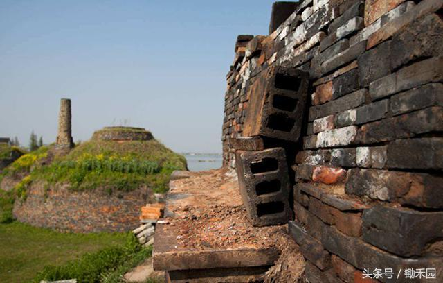 农村烧砖窑结构图