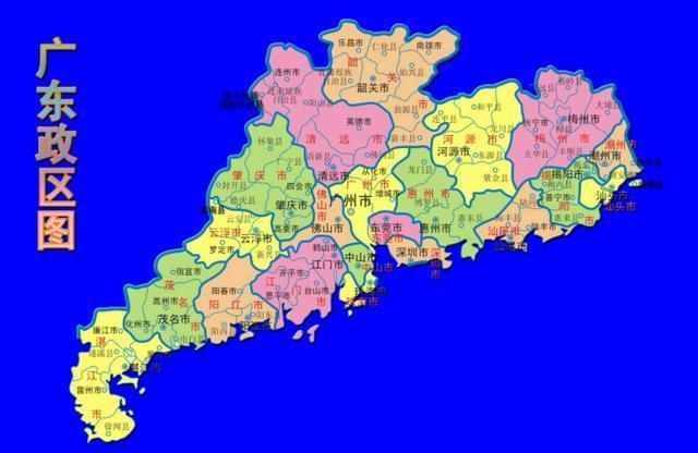 广州行政地图高清