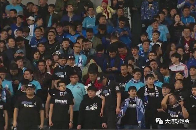 大连一方0:8上海上港,大连球迷并不伤心,因为你回来了