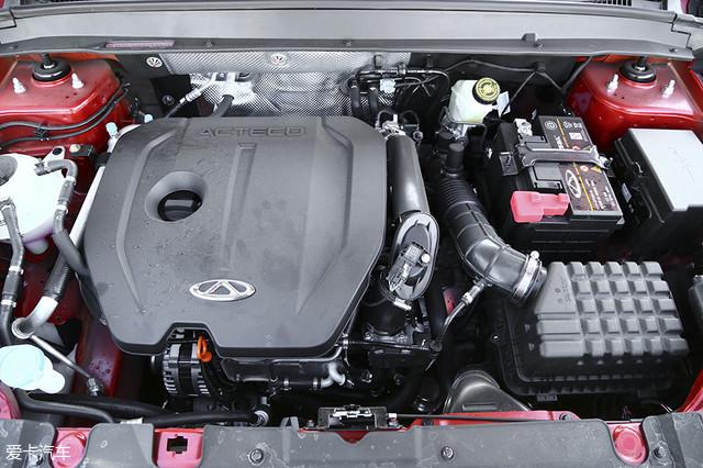 瑞虎5x全系搭载的都是目前中国品牌热效率最高的sqre4t15b发动机(热