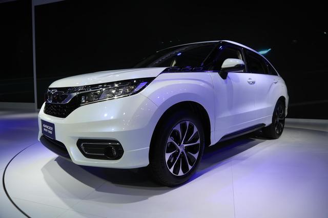 广汽本田冠道,全新大型豪华SUV,车展实拍