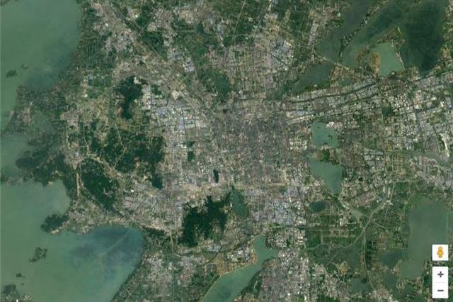 你能通过卫星地图辨别城市吗?有个旅游胜地特难猜但小资感爆棚!