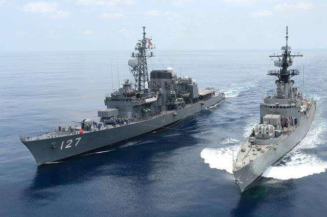日舰发现一艘中国破军舰 出动舰队包抄: 美军紧急通知日舰快撤退