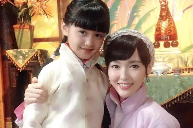 童星阿尔法脱发,郭书瑶大变脸,而这个像朱茵的美少女居然才10图片