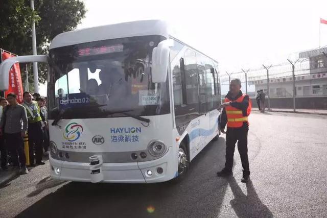 智能驾驶已经来到我们身边,全球首个无人驾驶公交试运行成功!