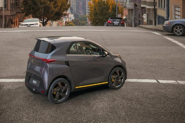 老年代步车的新标杆 车和家首款低速电动汽车sev曝光