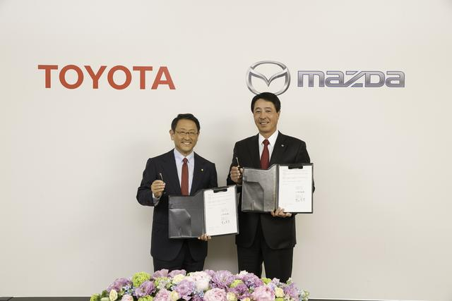 丰田拥有马自达5%股份将合资16亿美元 在美国建厂