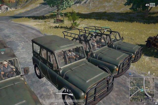 吃鸡游戏里出现的9款车 最后一款绝对惊人!