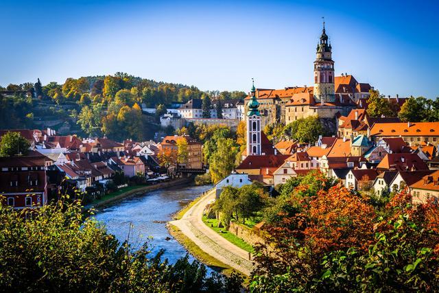 旅游日记:乡间风景秀美的捷克