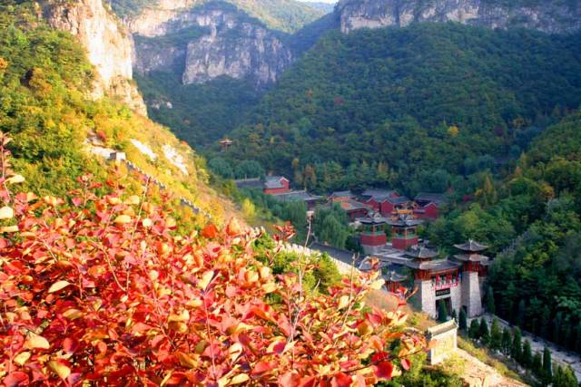 阳泉——藏山风景区