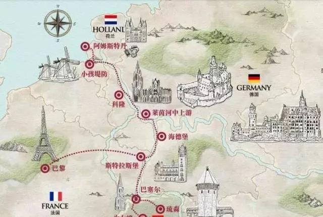 从东莞出发,舒适游玩欧洲的时尚旅行方式图片