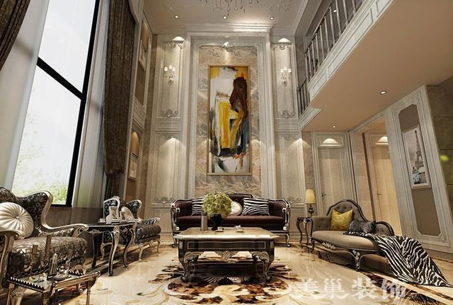 欧式以奢华与造型精美为主,260平别墅布局细节惊艳您的价值观