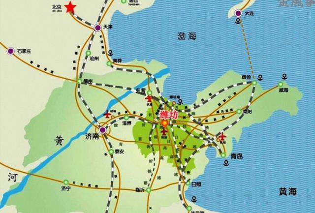 青岛铁路枢纽主要火车站有:青岛站,青岛北站,青岛西站(在建),红岛站