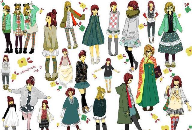 「推荐」动漫人物服装设计与画法教程