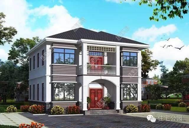 两套11x11米农村别墅户型,同样的宅地面积,你最喜欢哪