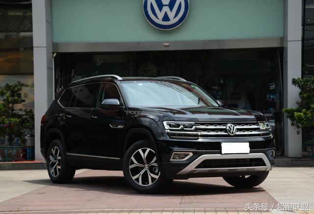 大众7座硬派SUV 搭载2.5升V6引擎,配全时四驱,气势不输奥迪Q7
