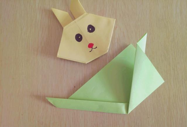 趣味折纸之小兔子