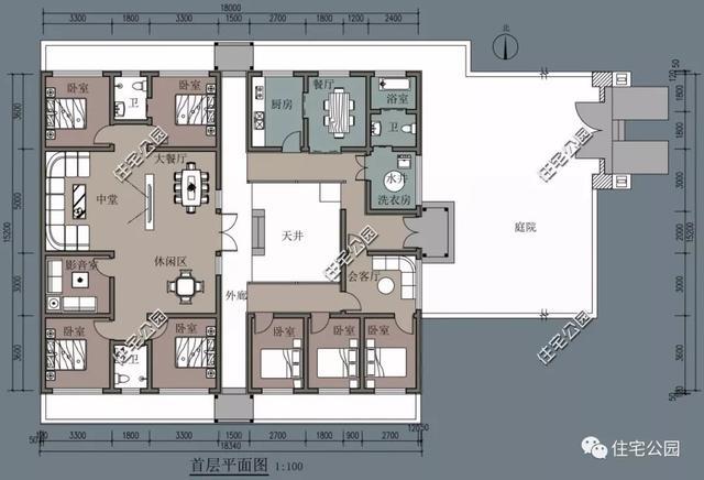 10套农村别墅全套建筑图,8到15米宽户型全都有,总有一