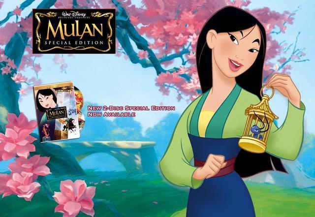 迪士尼真人版电影《花木兰》人选敲定,刘亦菲担纲主演