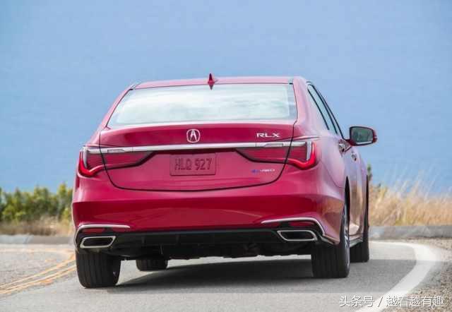 你觉得帅吗?18款讴歌RLX,售价近百万的豪车比辉腾还要低调n倍!