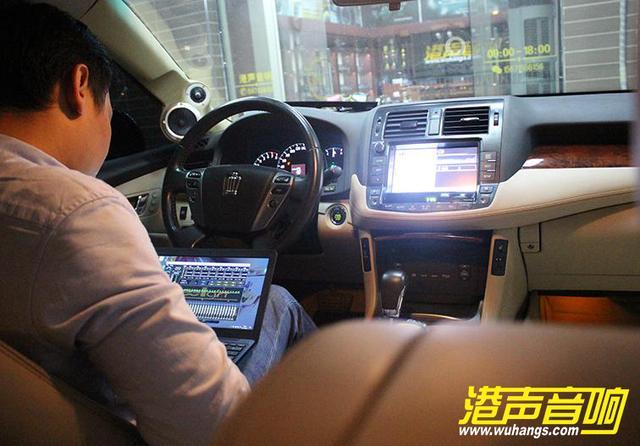 武汉汽车音响改装丰田皇冠发烧级丹麦绅士宝、美国TRU-港声音响