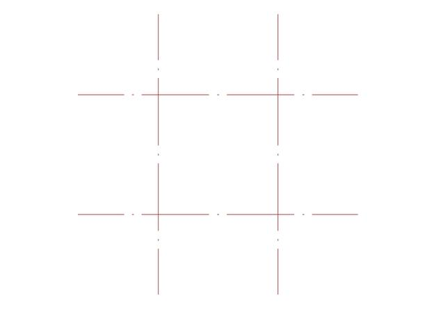单点长画线的首末两端应是线段,而不是点;单点长画线与单点长画线交接图片