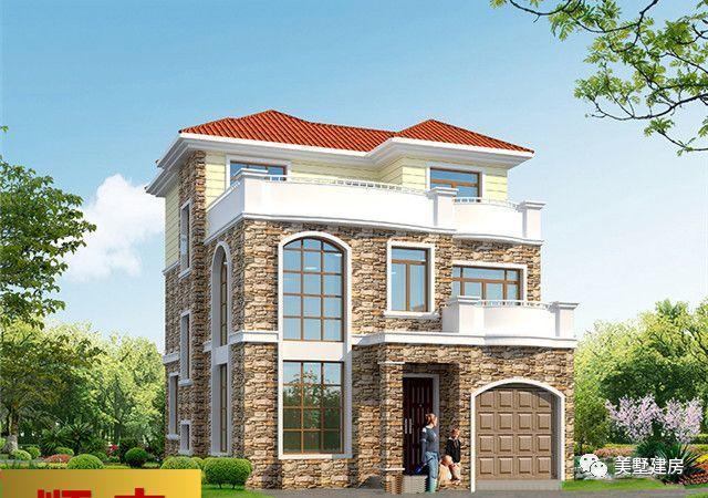 春节回农村老家建房子, 这20款别墅图纸你一定不能错过!图片
