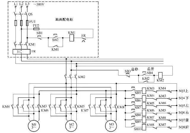 电工必备|电工常用电动机控制电路接线图大全 , 非常