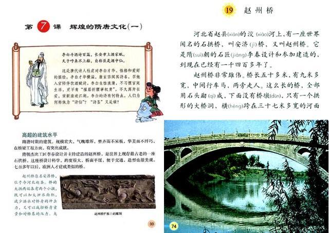 说起赵州桥,相信大家对它的印象肯定不会陌生,这可是小学课文中接触