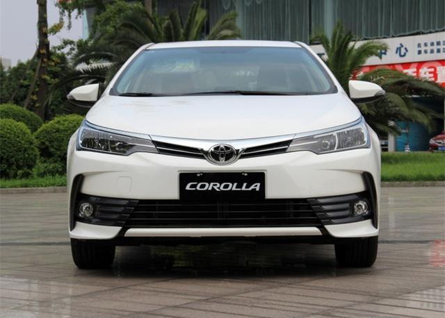 2018款卡罗拉增1.5T车型