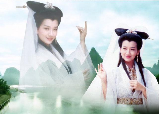 最美古装白衣仙女,古力娜扎只能排末尾,赵丽颖入不了前三